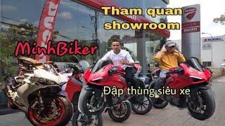 MinhBiker bán đất tậu siêu xe Ducati Panigale - THAM QUAN SHOWROOM  DUCATI SAIGON