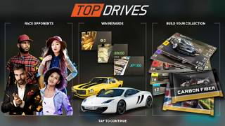 Top Drives Android Gameplay | Racing | Review | Play Store | Free | HD | Cars |