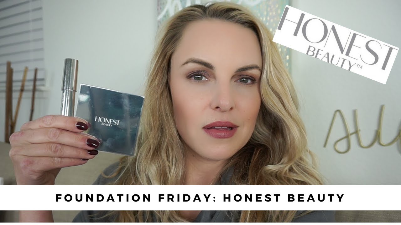 Review Honest Beauty Foundation Powder Foundation Friday
