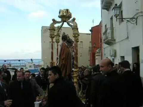 Marettimo, processione di San Giuseppe scalo vecchio