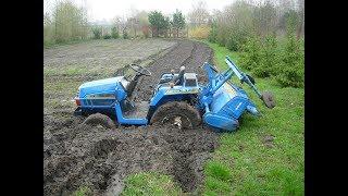 Sprzedaż używanych japońskich traktorków - ciągników ogrodniczych.  www.akant-ogrody.pl