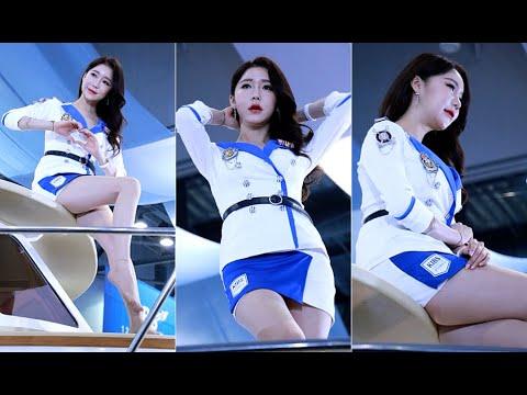 레이싱모델 민채윤 직캠 2 by 깡TV 2019 경기국제보트쇼