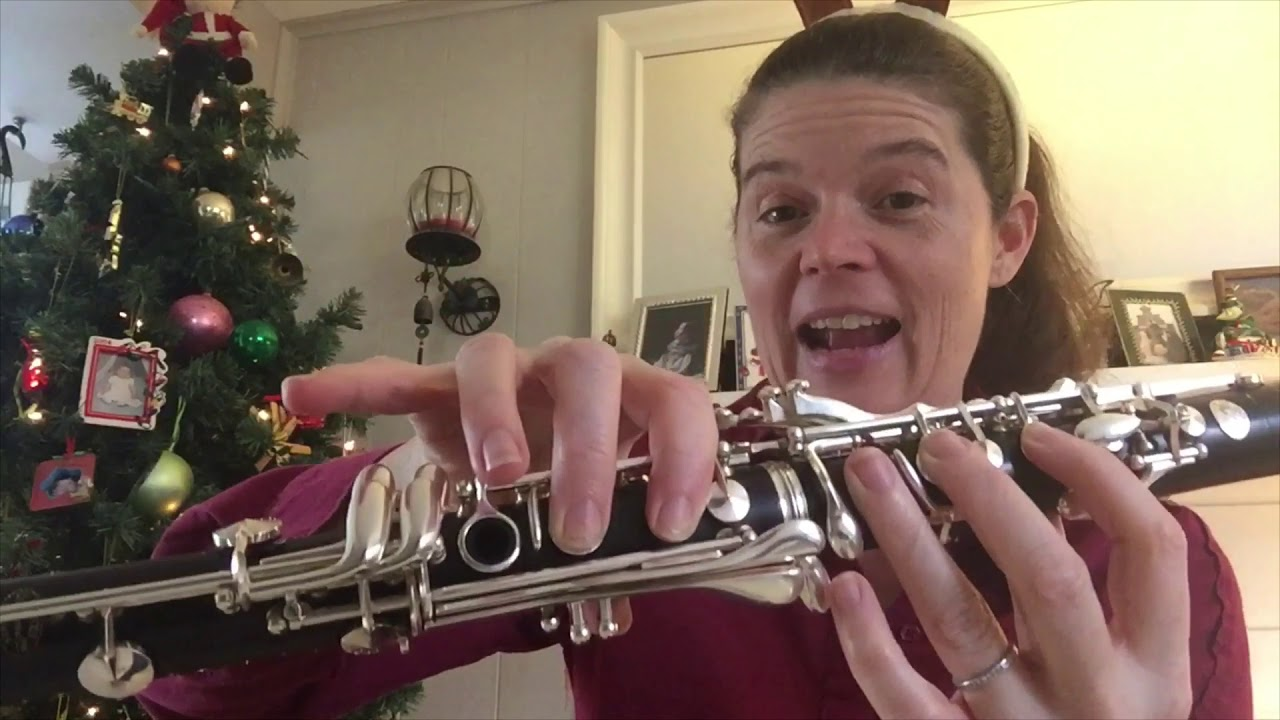 White Christmas Youtube.White Christmas Tutorial For Clarinet