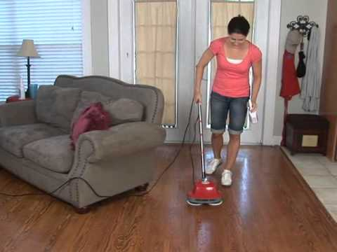 BOSS Cleaning Equipment Gloss Boss Scrubber Polisher Video