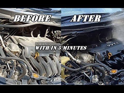 How to clean car engine | Urdu Hindi Tutorial