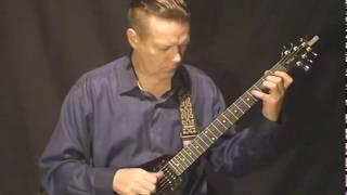 Finger style for electric guitar Summer trails (Valery Litvinov - guitar)(Обучение игре на гитаре (Москва, метро Коломенская) Интенсивный курс обучения игре на гитаре для начинающих..., 2014-09-14T17:49:42.000Z)