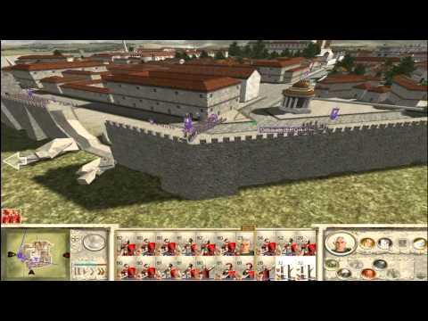 Let's Play Rome Total War (Julier; German) 57b - Alea iacta est (Das Ende des Senats)