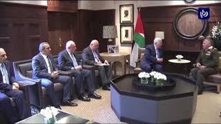 الملك يؤكد على مواصلة الجهود للدفاع عن القضية الفلسطينية - (29-1-2018)
