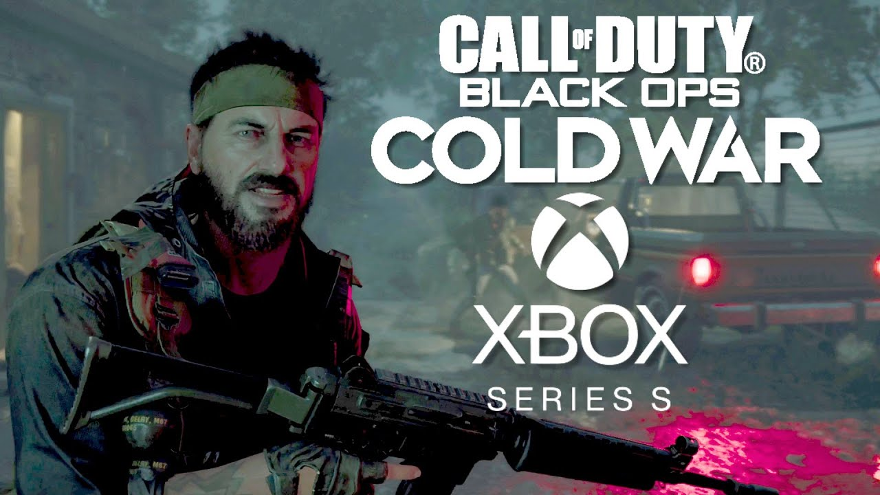 Call of Duty Black Ops Cold War Xbox Series S 4K Gameplay
