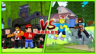 ROBLOX TOWER BATTLES - DONUT & ROPO BATTLE BABY DUCK & BABY MAX!!