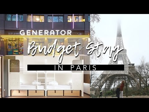 Generator Hostel Paris | Budget Stay in Paris | Sylvia Cing