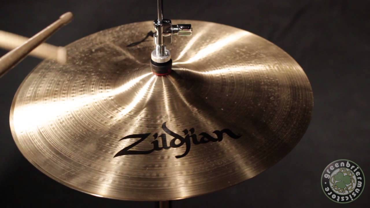 zildjian avedis 14 new beat hi hat cymbal pair namm show display stock zas320 youtube. Black Bedroom Furniture Sets. Home Design Ideas