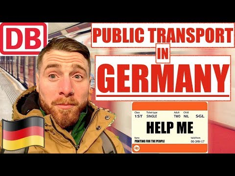 GERMAN PUBLIC TRANSPORT