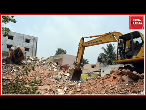 Demolition In Bangalore On Hold For A Day