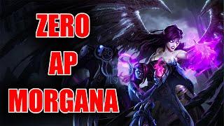 ZERO AP MORGANA CHALLENGE!!! - TANK MORGANA BUILD/GAMEPLAY -