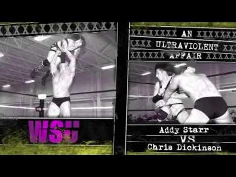 "Download Chris Dickinson vs. Addy Starr   WSU [Free Match] ""An Ultraviolent Affair"" Intergender Mixed CZW"