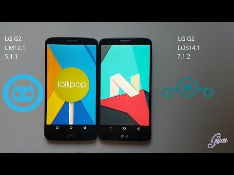 LineageOS 14.1 VS CyanogenMod 12.1 - Speed Test!