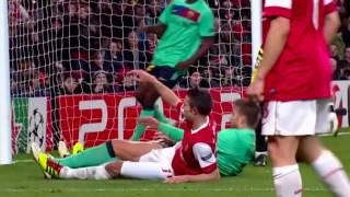 Arsenal 2-1 Barcelona Champions League 2011 HD