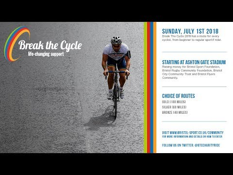 Community: Break The Cycle 2018 safety briefing