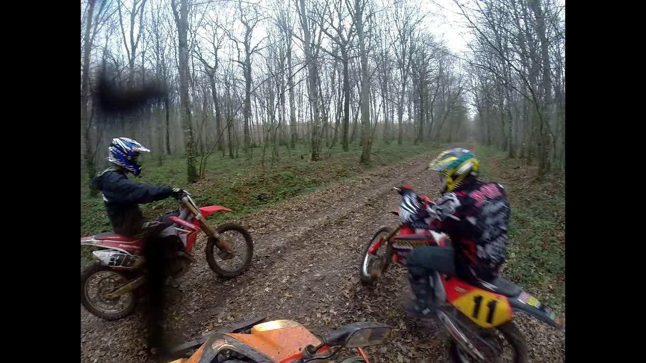 Moto Cross Honda 450 Crf Et 125 Quad Daelim 300 Youtube