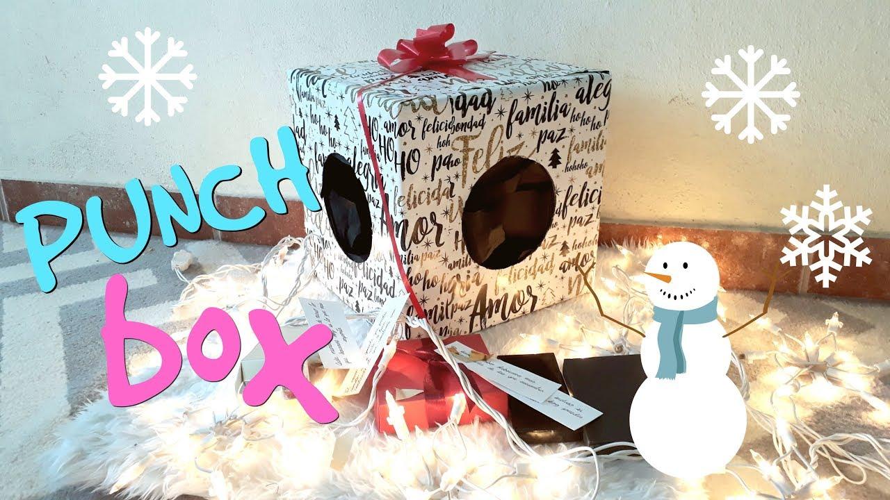 Diy punch box de navidad detalles para regalar for Detalles de navidad