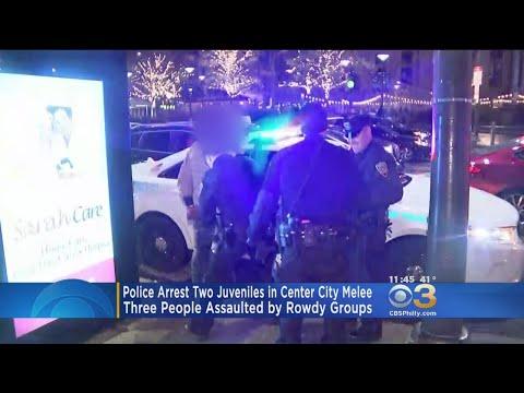 Police Arrest 2 Juveniles In Center City Melee