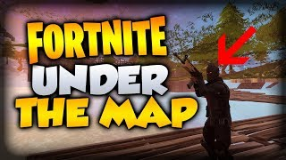 Fortnite Battle Royale Glitches Season 4 NEW Fully Under The Map Glitch Wallbreach PS4 PC XB1