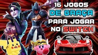 16 jogos GRATUITOS para jogar no Nintendo Switch