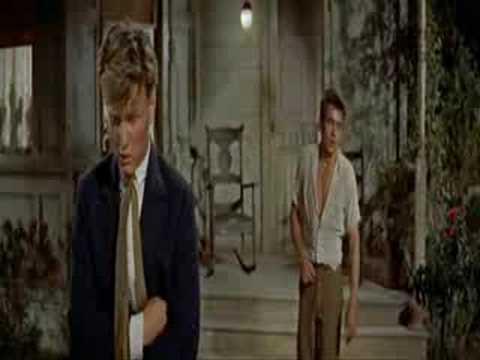 East Of Eden: James Dean and Richard Davalos 1955