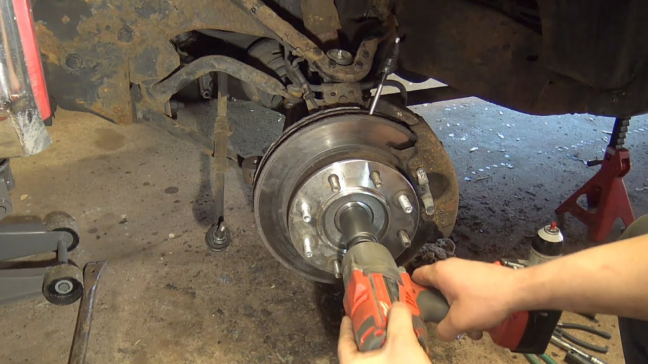 Chevy Silverado K2500 Front Hub Bearing Replacement  YouTube
