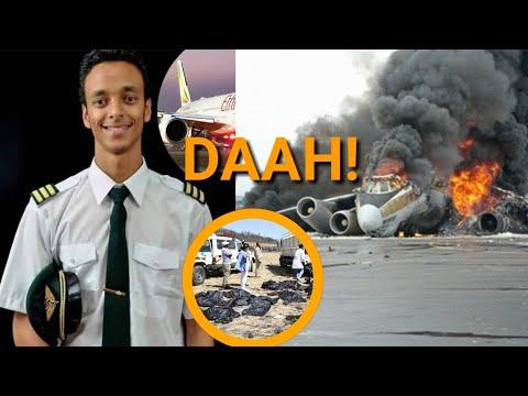INASIKITISHA! KUMBE RUBANI WA NDEGE YA ETHIOPIA ALIJITAHIDI KUIOKOA IKASHINDIKANA!!