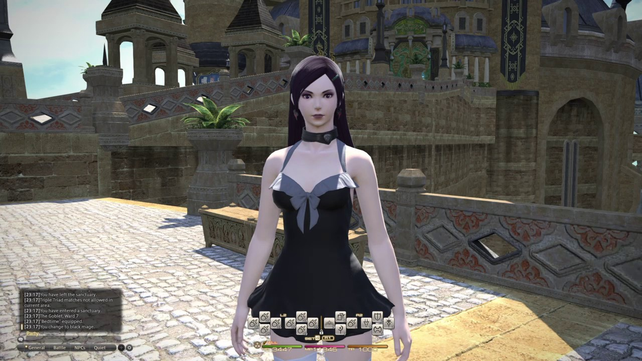 Ffxiv Samsonian Locks New 3 4 Hairstyle From Potd Youtube
