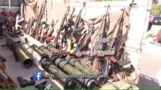 Сдача боевиков в Сирии