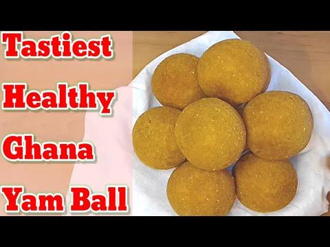 How to make Ghana yam ball
