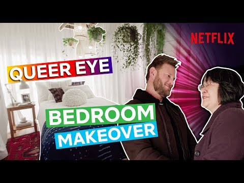 Bobby gives nurse Yoko a dream bedroom makeover | Queer Eye