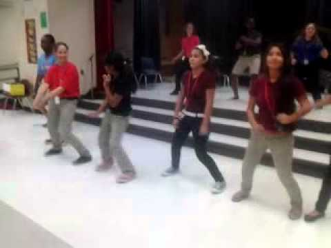Having fun at knight time A.C New Middle School - YouTube