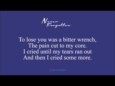 Never Forgotten ~ Memory Poem