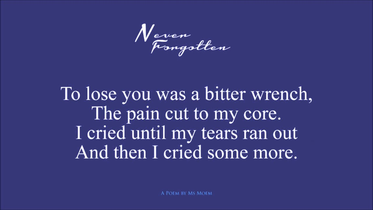 memories will never be forgotten essay Personal narrative: the day i will never forget essaysthe day i will never forget was happened last october 23,2001, when i was in junior high school in the philippines.