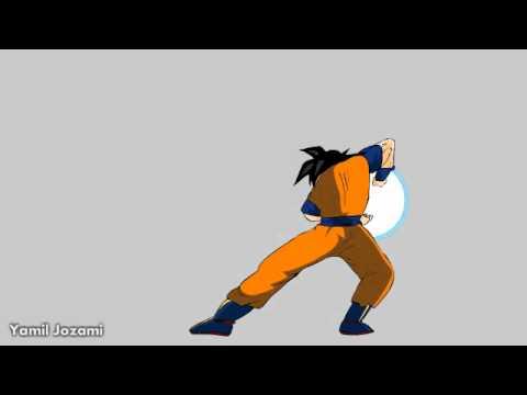 Animacion goku tutorial cuarta parte youtube Imagenes con animacion