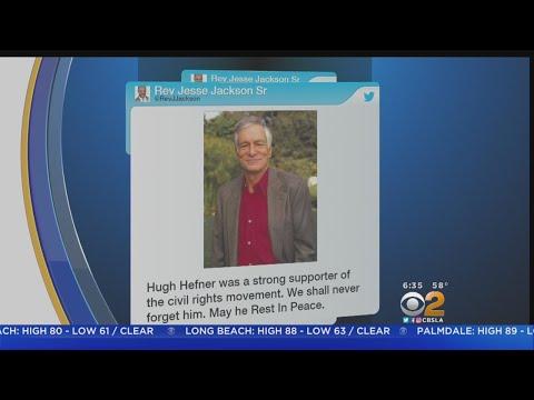 Civil Rights Leaders Found Friend In Hugh Hefner