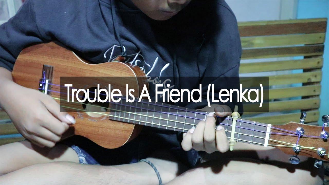 Trouble Is A Friend - Lenka (Melody Fingerstyle Ukulele By Pejuang Rupiah)