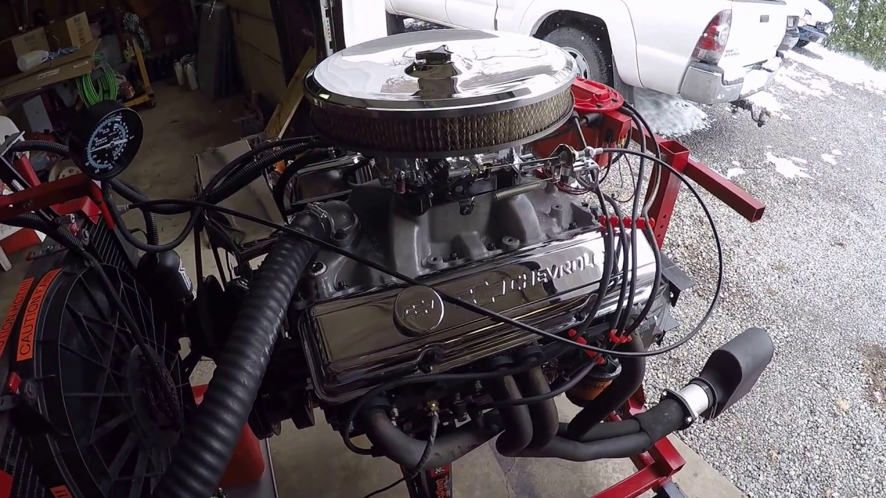 chevy 305 rebuilt small block chevy sbc 305 est 300hp [ 1280 x 720 Pixel ]