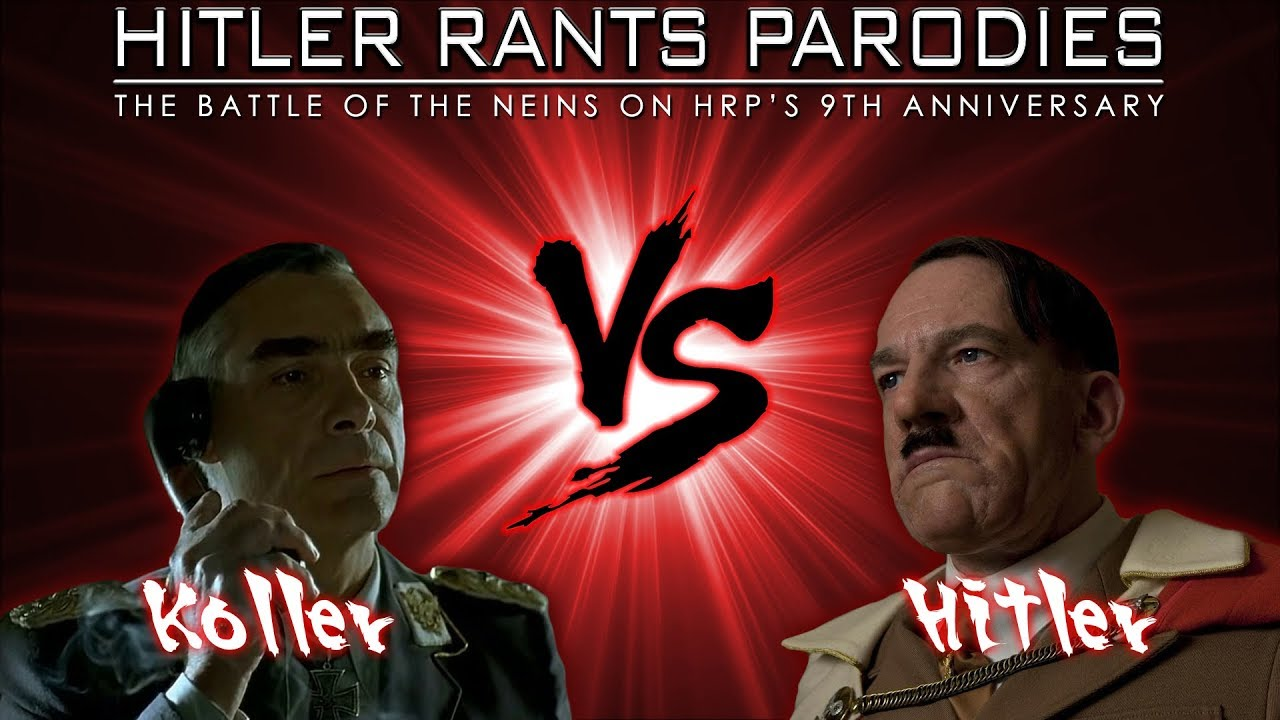 Koller Vs Inglourious Hitler: The Battle of the Neins