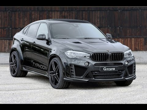 g-power-unveils-their-latest-generation-x6-m-typhoon---more-widebody-power