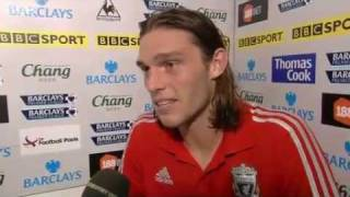Everton vs Liverpool 0-2 - Andy Carroll (01-10-11)