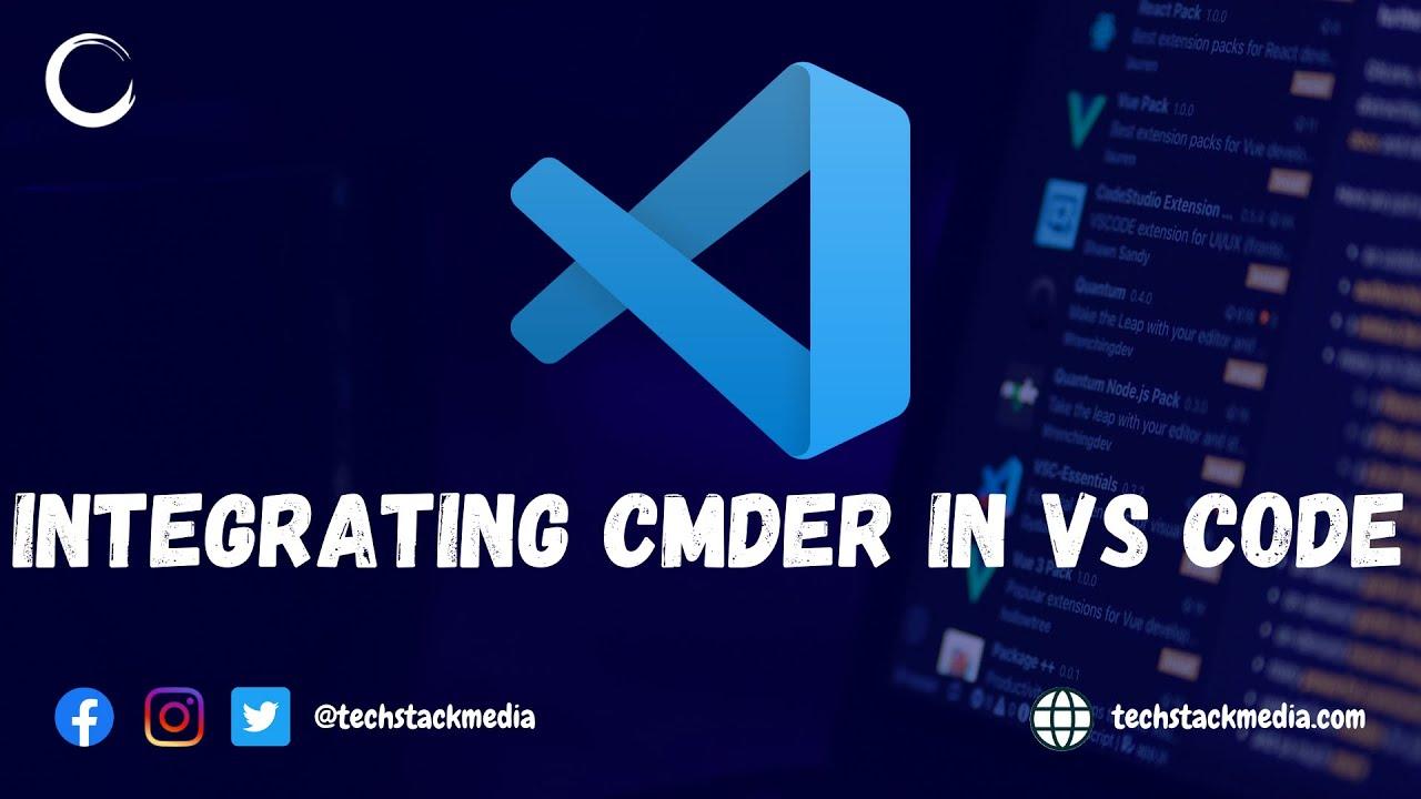Demo: Integrating Cmder in VS Code