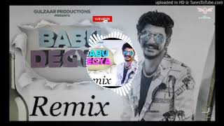 bapu degya remix song gulzaar chhaniwala.... ||bapu degya remix hard bass full vibration.......