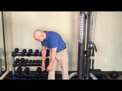 quadratus lumborum stretch - best low back stretch while standing - standing ql stretch
