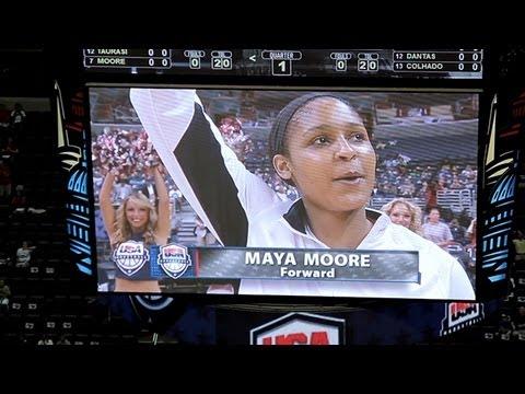Maya Moore and the USA Men