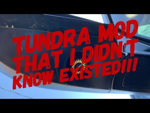 Tundra Mod That I Didn't Know Existed